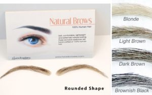human hair eyebrows