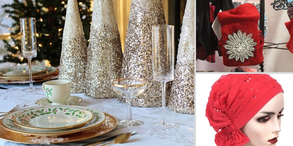 Collage-Holiday-table-head-coverings