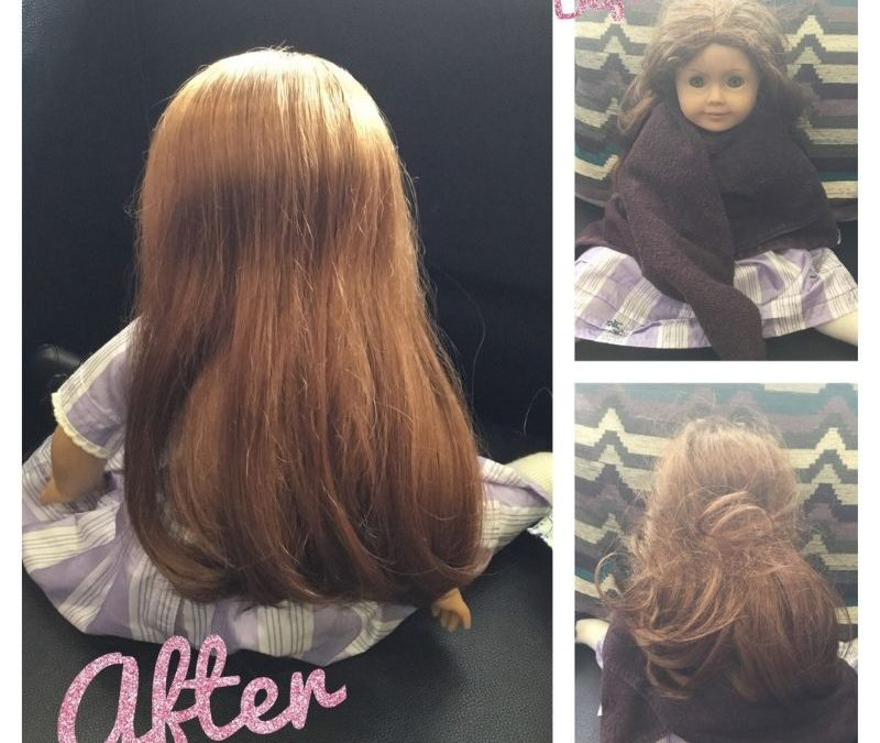 "18"" Doll Hair Care"