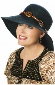 Black Fashion Hat