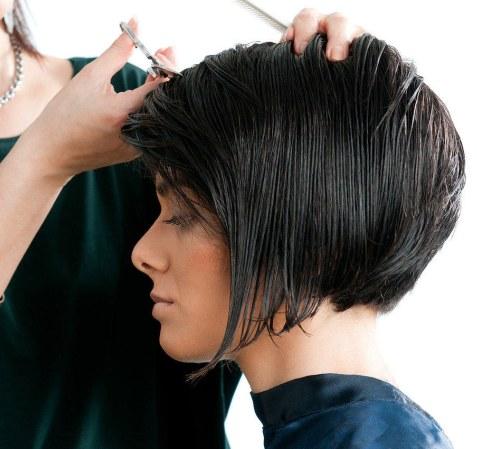 Wig haircut