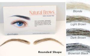 human hair eyebrows